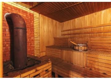 Русская баня на дровах| Отель «Кристалл»| Домбай